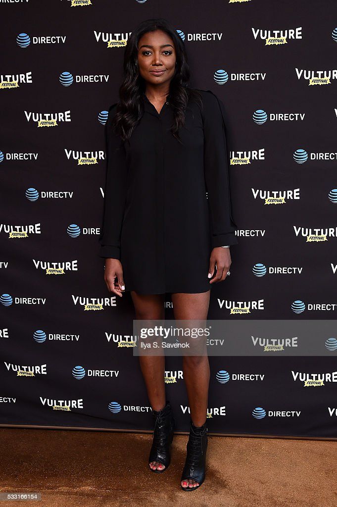 Actress <a gi-track='captionPersonalityLinkClicked' href=/galleries/search?phrase=Patina+Miller&family=editorial&specificpeople=5748190 ng-click='$event.stopPropagation()'>Patina Miller</a> attends the Vulture Festival Opening Night Party sponsored by DirecTV at The Top of The Standard on May 20, 2016 in New York City.