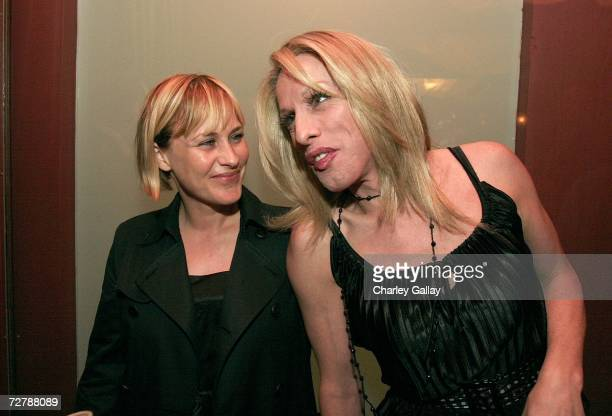 Actress Patricia Arquette and actor Alexis Arquette at the after party for the FX Network's premiere screening of 'Dirt' at Republic on December 9...