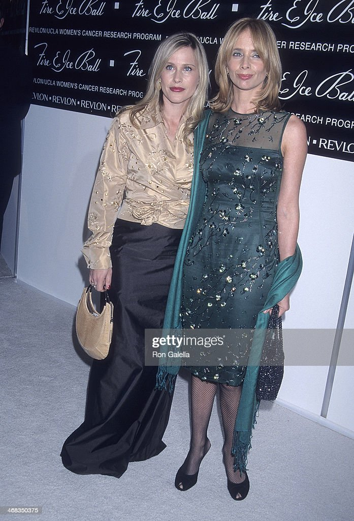Actress Patricia Arquette and actress Rosanna Arquette attend the 10th Annual Fire & Ice Ball to Benefit the Revlon/UCLA Women's Cancer Research Program on December 11, 2000 at the Beverly Hilton Hotel in Beverly Hills, California.