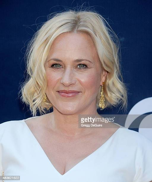 Actress Patricia Arquette arrives at the CBS CW And Showtime 2015 Summer TCA Party at Pacific Design Center on August 10 2015 in West Hollywood...