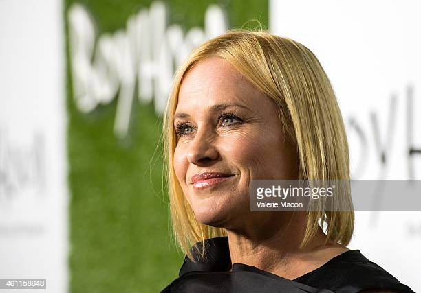 Actress Patricia Arquette arrives at the Paramount Home Media Distribution Celebrates 'Boyhood' at Chateau Marmont on January 7 2015 in Los Angeles...