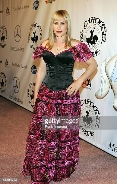 Actress Patricia Arquette arrives to the 16th Carousel of Hope presented by MercedesBenz benefiting the Barbara Davis Center for Childhood Diabetes...