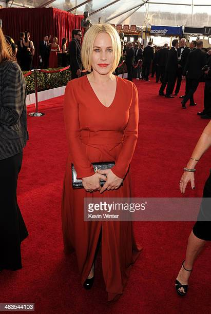 Actress Patricia Arquette attends 20th Annual Screen Actors Guild Awards at The Shrine Auditorium on January 18 2014 in Los Angeles California