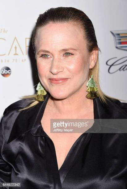Actress Patricia Arquette attends Cadillac's 89th annual Academy Awards celebration at Chateau Marmont on February 23 2017 in Los Angeles California