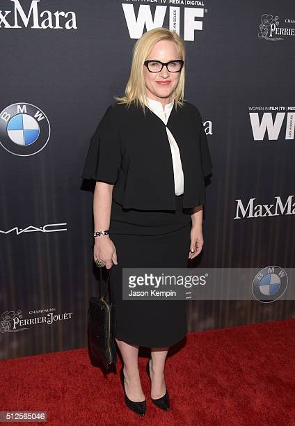 Actress Patricia Arquette attends Ninth Annual Women In Film PreOscar Cocktail Party presented by Max Mara BMW MAC Cosmetics and PerrierJouet at Hyde...