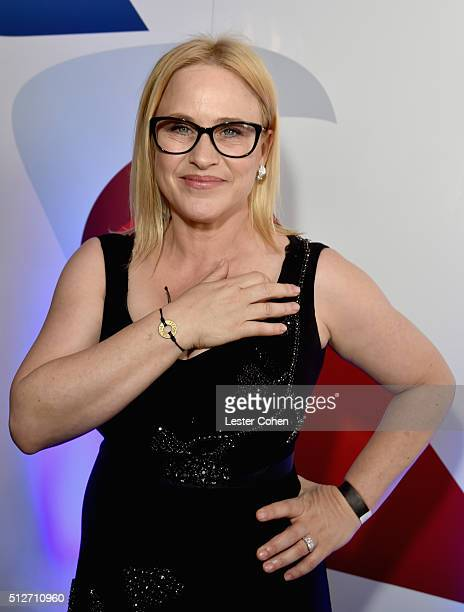 Actress Patricia Arquette attends the 2016 Film Independent Spirit Awards sponsored by American Arilines on February 27 2016 in Santa Monica...