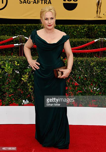 Actress Patricia Arquette attends the 21st Annual Screen Actors Guild Awards at The Shrine Auditorium on January 25 2015 in Los Angeles California