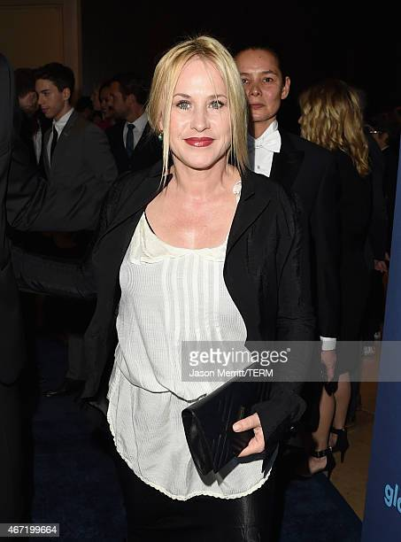Actress Patricia Arquette attends the 26th Annual GLAAD Media Awards at The Beverly Hilton Hotel on March 21 2015 in Beverly Hills California