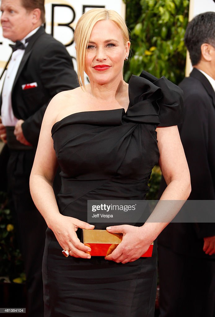 Actress Patricia Arquette attends the 72nd Annual Golden Globe Awards at The Beverly Hilton Hotel on January 11 2015 in Beverly Hills California