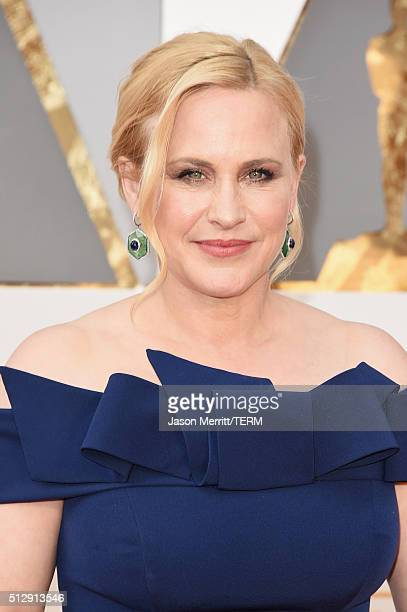 Actress Patricia Arquette attends the 88th Annual Academy Awards at Hollywood Highland Center on February 28 2016 in Hollywood California