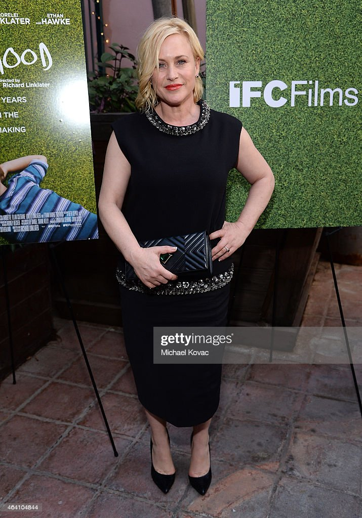 Actress Patricia Arquette attends the AMC Networks and IFC Films Spirit Awards After Party on February 21, 2015 in Santa Monica, California.
