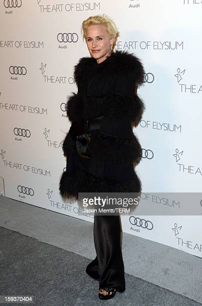 Actress Patricia Arquette attends The Art of Elysium's 6th Annual HEAVEN Gala presented by Audi at 2nd Street Tunnel on January 12 2013 in Los...