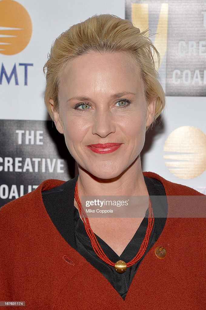 Actress <a gi-track='captionPersonalityLinkClicked' href=/galleries/search?phrase=Patricia+Arquette&family=editorial&specificpeople=206197 ng-click='$event.stopPropagation()'>Patricia Arquette</a> attends the Celebrating The Arts In American Dinner Party With Distinguished Women In Media Presented By Landmark Technology Inc. And The Creative Coalition at Neyla on April 26, 2013 in Washington, DC.