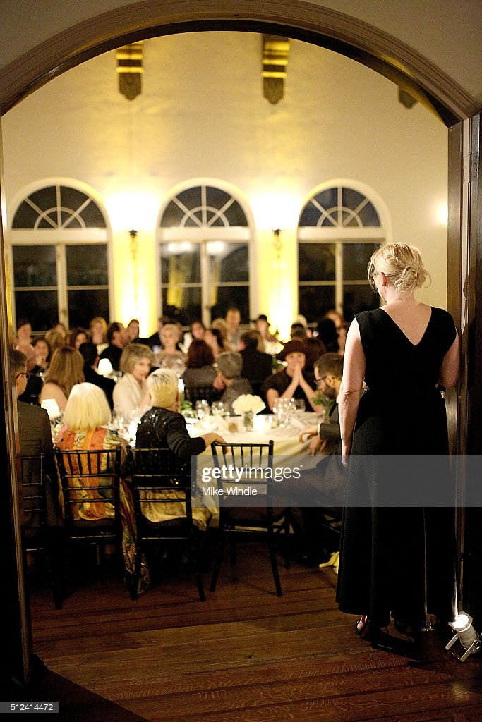 Actress Patricia Arquette attends The Dinner For Equality co-hosted by Patricia Arquette and Marc Benioff on February 25, 2016 in Beverly Hills, California.