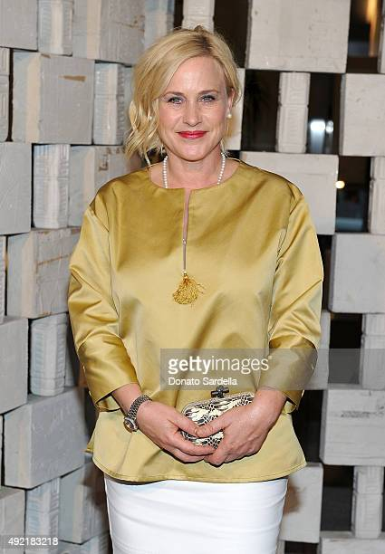 Actress Patricia Arquette attends the Hammer Museum Gala in Garden sponsored by Bottega Veneta at Hammer Museum on October 10 2015 in Westwood...