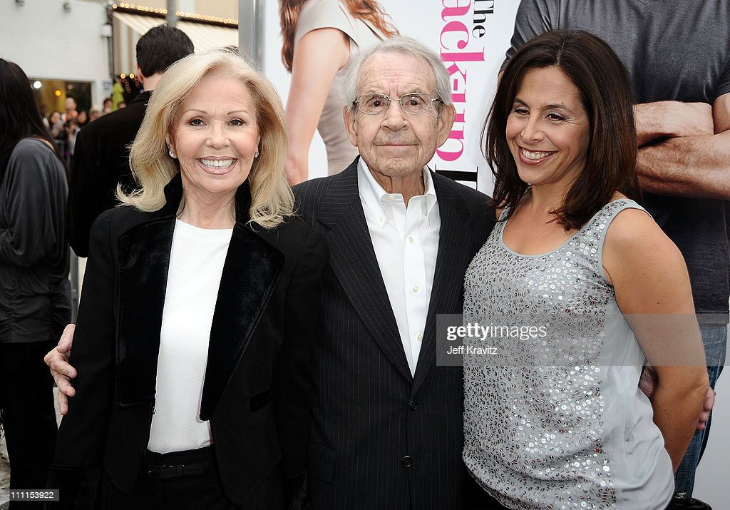 Actress Patricia Carr actor Tom Bosley and CBS Films' president and CEO Amy Baer arrive at the premiere of 'The Backup Plan' held at Regency Village...