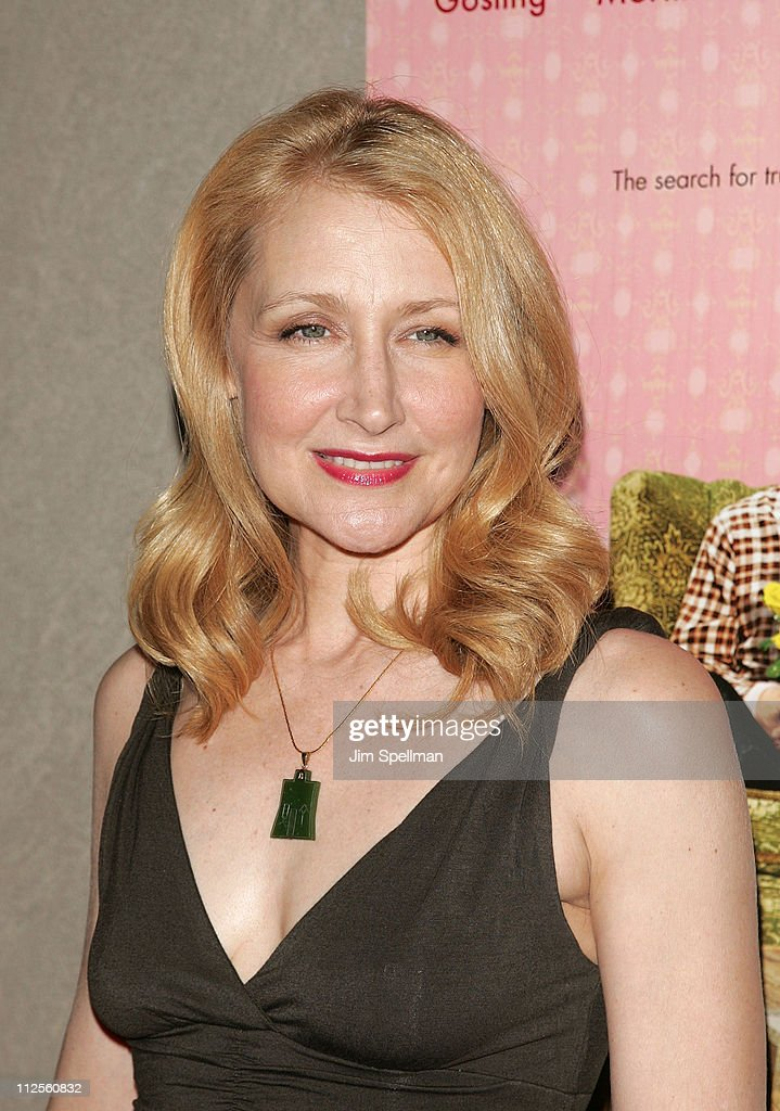 Actress <a gi-track='captionPersonalityLinkClicked' href=/galleries/search?phrase=Patricia+Clarkson&family=editorial&specificpeople=202994 ng-click='$event.stopPropagation()'>Patricia Clarkson</a> arrives at 'Lars and the Real Girl' premiere at the Paris Theater on October 3, 2007 in New York City