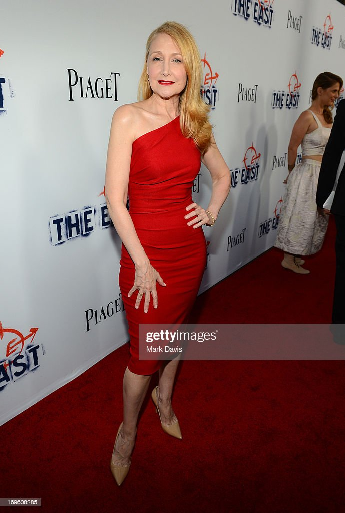 Actress Patricia Clarkson arrives at the premiere of Fox Searchlight Pictures' 'The East' presented by Piaget at ArcLight Hollywood on May 28, 2013 in Hollywood, California.