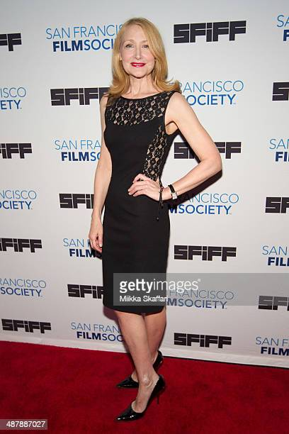 Actress Patricia Clarkson arrives at the premiere of 'Last Weekend' at San Francisco International Film Festival on May 2 2014 in San Francisco...
