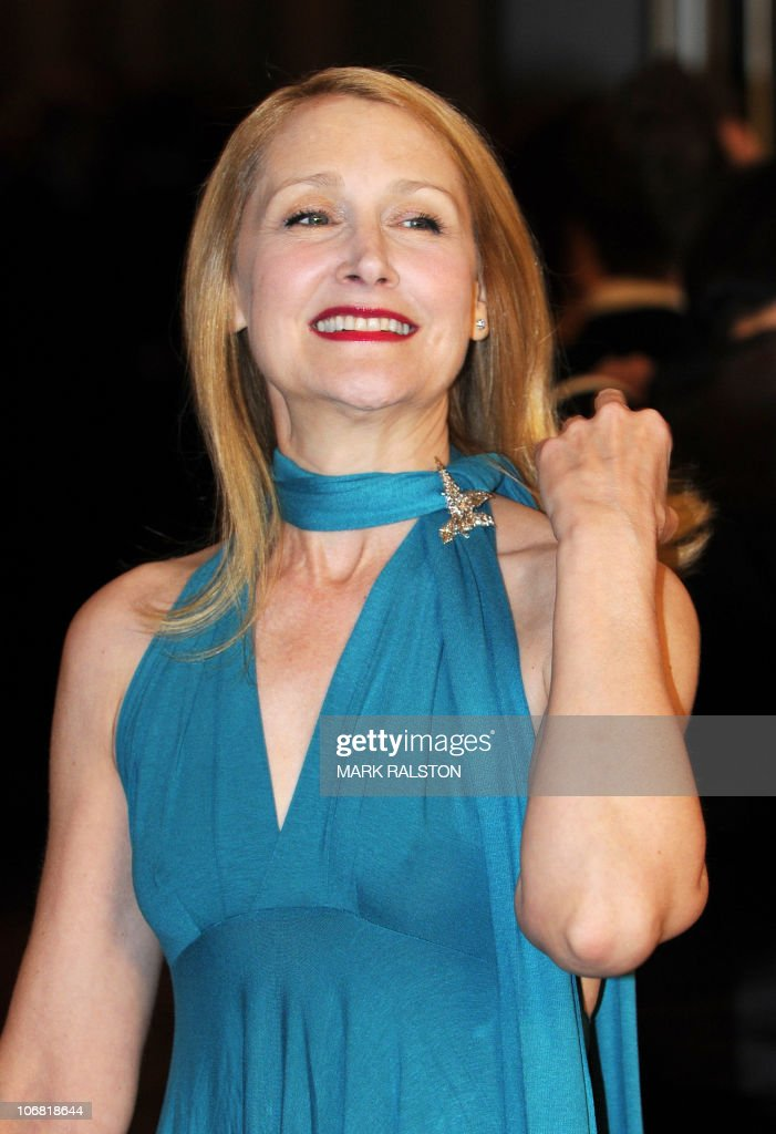 Actress Patricia Clarkson arrives on the red carpet for the 2010 Oscars Governors Awards at the Hollywood and Highland Center in Hollywood on November 13, 2010. AFP PHOTO/Mark RALSTON
