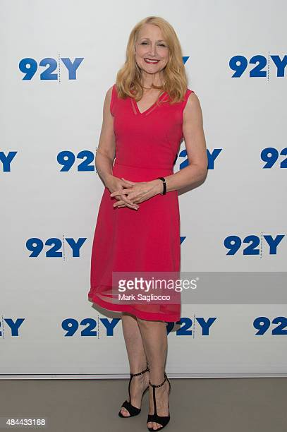 Actress Patricia Clarkson attends 92Y's Reel Pieces Series 'Learning to Drive' at 92nd Street Y on August 18 2015 in New York City