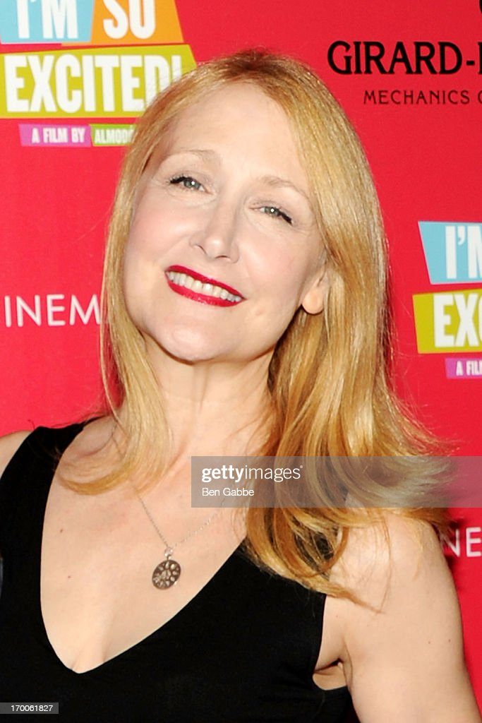Actress Patricia Clarkson attends a screening of Sony Pictures Classics' 'I'm So Excited' hosted by Girard-Perregaux and The Cinema Society with DeLeon at Sunshine Landmark on June 6, 2013 in New York City.
