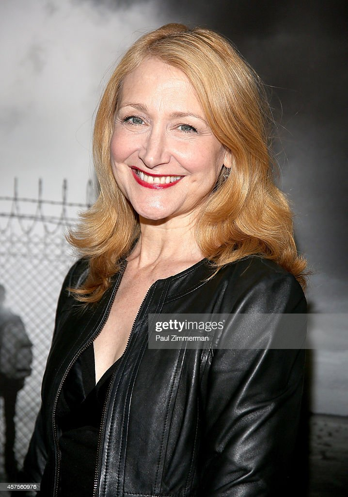 Actress <a gi-track='captionPersonalityLinkClicked' href=/galleries/search?phrase=Patricia+Clarkson&family=editorial&specificpeople=202994 ng-click='$event.stopPropagation()'>Patricia Clarkson</a> attends a special New York screening of SenArt Films 'Kids For Ca$h' at Scholastic Auditorium on October 20, 2014 in New York City.