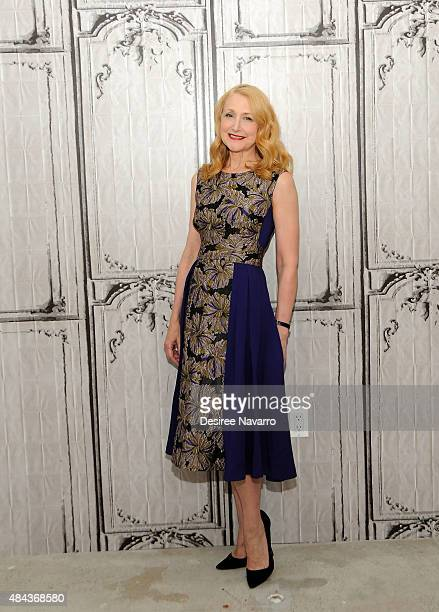 Actress Patricia Clarkson attends AOL's BUILD Speaker Series Present 'Learning To Drive at AOL Studios In New York on August 17 2015 in New York City