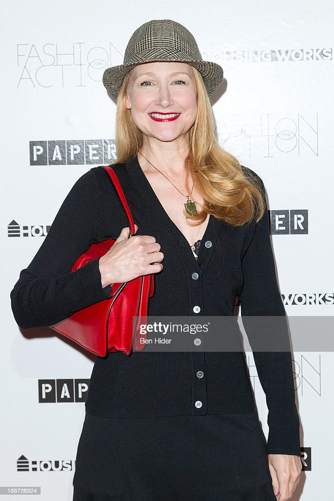 Actress Patricia Clarkson attends Fashion for Action 2012 at the Altman Building on November 7, 2012 in New York City.