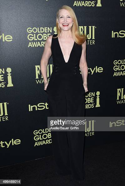 Actress Patricia Clarkson attends Hollywood Foreign Press Association and InStyle Celebration of The 2016 Golden Globe Award Season at Ysabel on...