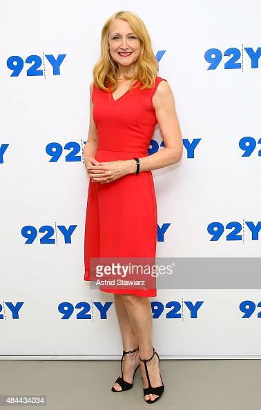 Actress Patricia Clarkson attends Reel Pieces With Annette Insdorf Preview Screening Of 'Learning To Drive' at 92nd Street Y on August 18 2015 in New...