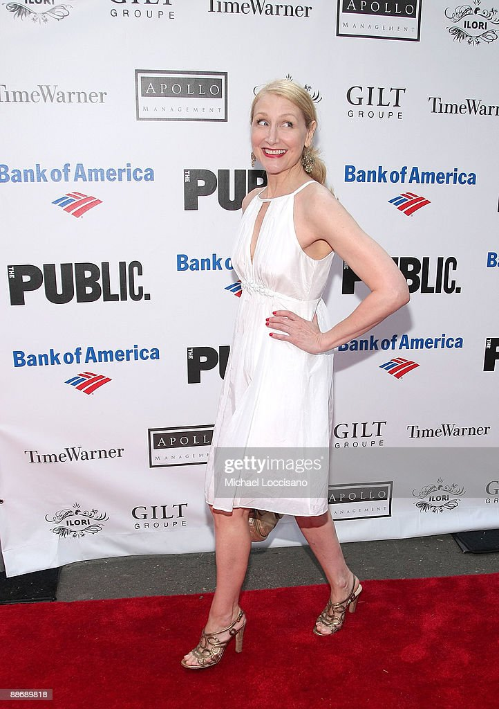 Actress Patricia Clarkson attends the 2009 Shakespeare in the Park opening night gala performance of 'Twelfth Night' at the Delacorte Theater on June 25, 2009 in New York City.