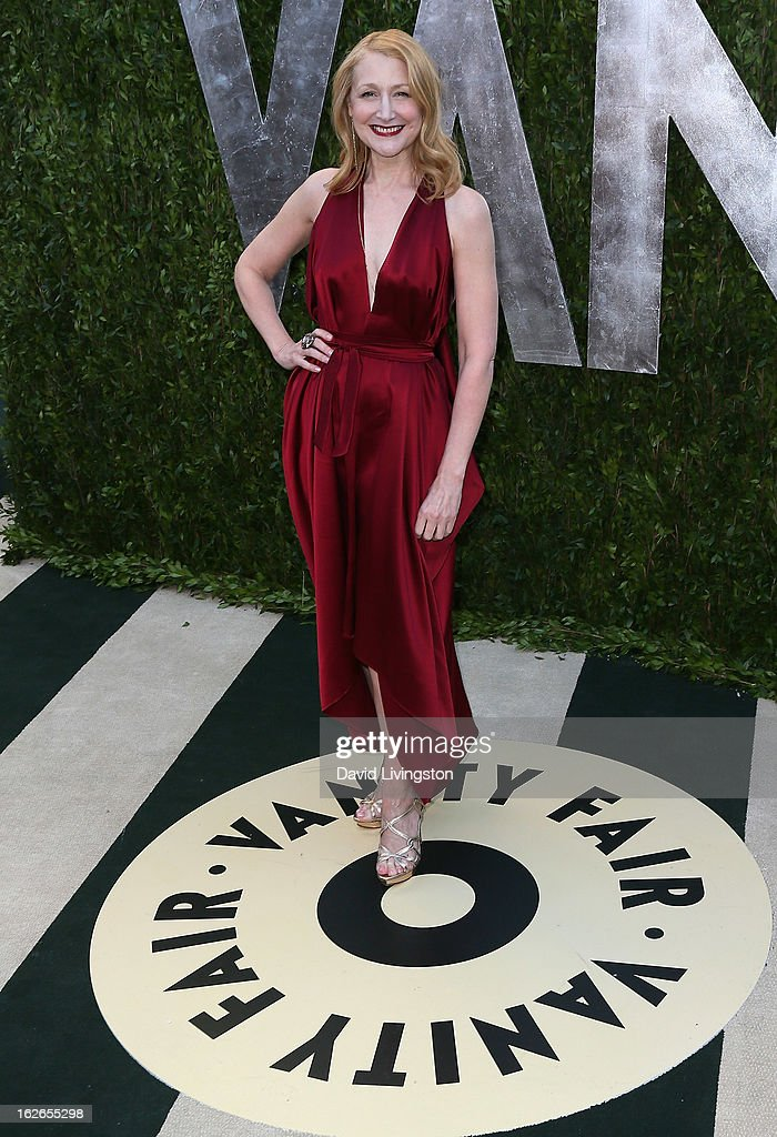 Actress Patricia Clarkson attends the 2013 Vanity Fair Oscar Party at the Sunset Tower Hotel on February 24, 2013 in West Hollywood, California.
