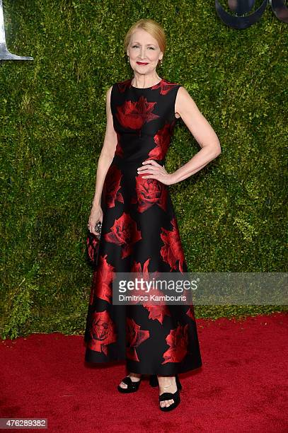 Actress Patricia Clarkson attends the 2015 Tony Awards at Radio City Music Hall on June 7 2015 in New York City