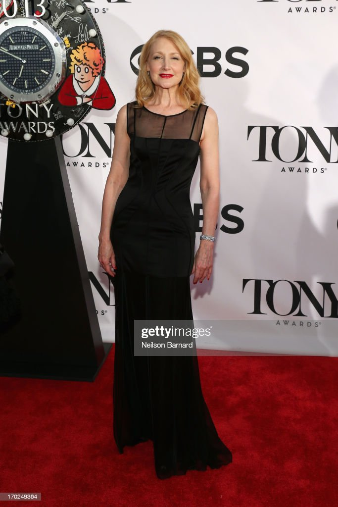 Actress Patricia Clarkson attends The 67th Annual Tony Awards at Radio City Music Hall on June 9, 2013 in New York City.