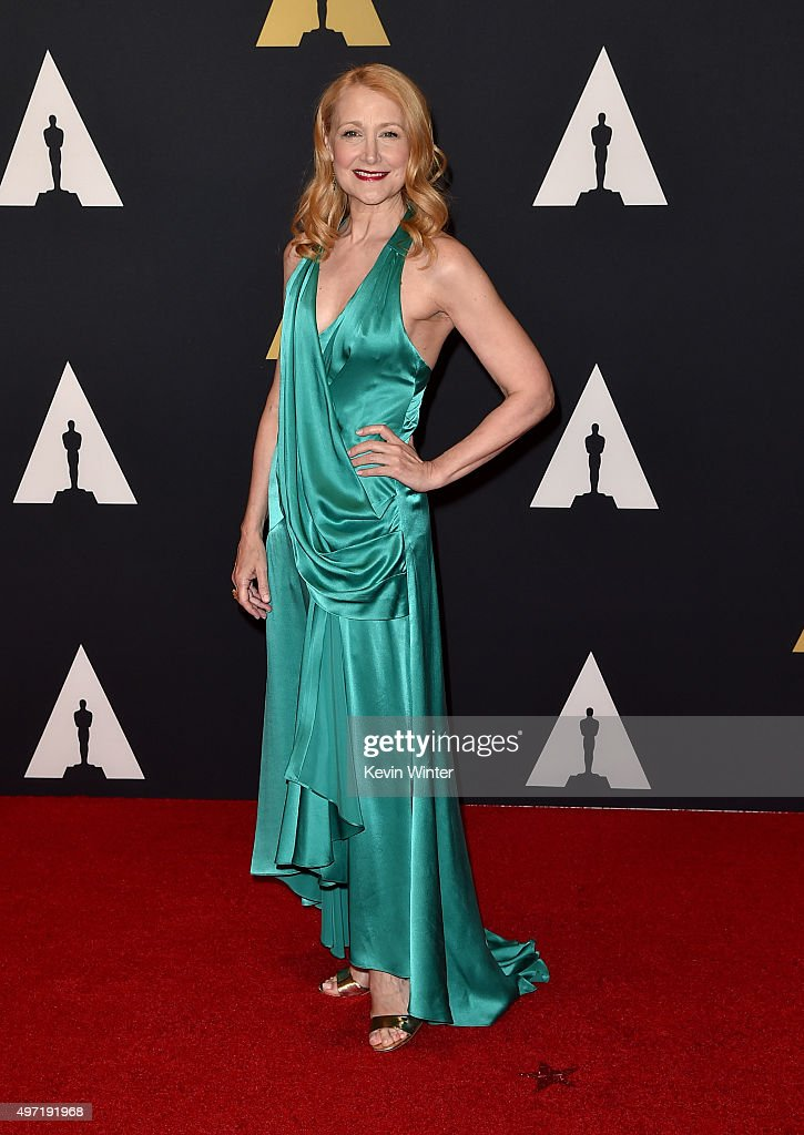 Actress <a gi-track='captionPersonalityLinkClicked' href=/galleries/search?phrase=Patricia+Clarkson&family=editorial&specificpeople=202994 ng-click='$event.stopPropagation()'>Patricia Clarkson</a> attends the Academy of Motion Picture Arts and Sciences' 7th annual Governors Awards at The Ray Dolby Ballroom at Hollywood & Highland Center on November 14, 2015 in Hollywood, California.