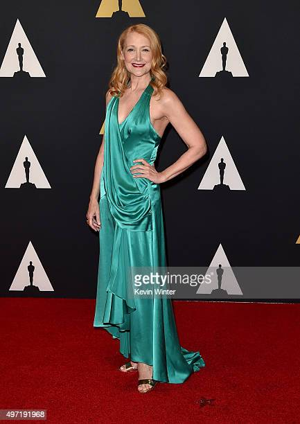 Actress Patricia Clarkson attends the Academy of Motion Picture Arts and Sciences' 7th annual Governors Awards at The Ray Dolby Ballroom at Hollywood...