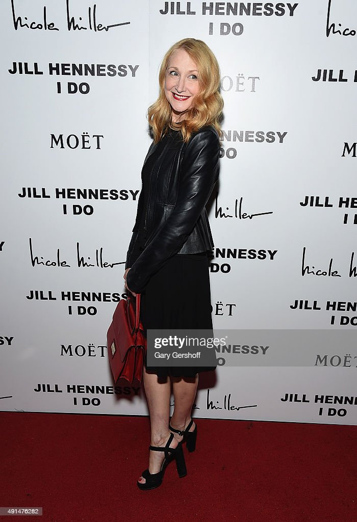 Actress Patricia Clarkson attends the album release party for Jill Hennessy's 'I Do' at The Cutting Room on October 5 2015 in New York City