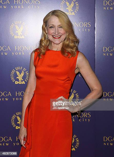 Actress Patricia Clarkson attends the DGA Honors Gala 2015 at the DGA Theater on October 15 2015 in New York City