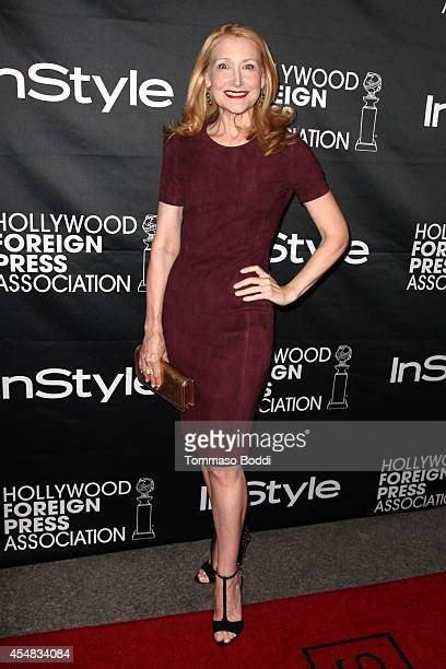 Actress Patricia Clarkson attends the HFPA InStyle's 2014 TIFF celebration at the 2014 Toronto International Film Festival at Windsor Arms Hotel on...