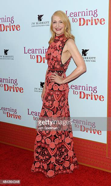 Actress Patricia Clarkson attends the 'Learning To Drive' New York premiere at The Paris Theatre on August 17 2015 in New York City