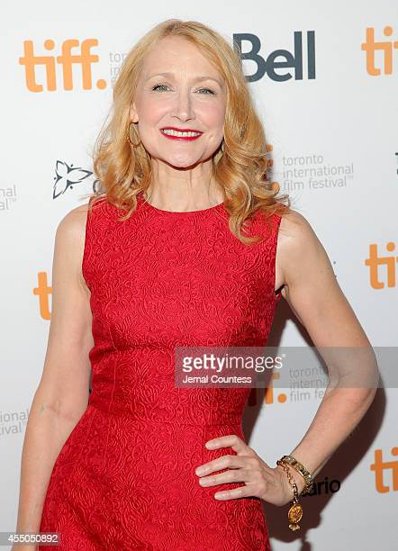 Actress Patricia Clarkson attends the 'Learning to Drive' premiere during the 2014 Toronto International Film Festival at The Elgin on September 9...