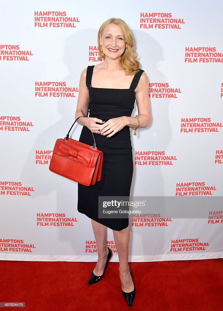 Actress <a gi-track='captionPersonalityLinkClicked' href=/galleries/search?phrase=Patricia+Clarkson&family=editorial&specificpeople=202994 ng-click='$event.stopPropagation()'>Patricia Clarkson</a> attends the Learning to Drive premiere during the 2014 Hamptons International Film Festival on October 10, 2014 in East Hampton, New York.