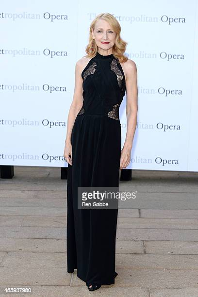Actress Patricia Clarkson attends the Metropolitan Opera Season Opening at The Metropolitan Opera House on September 22 2014 in New York City