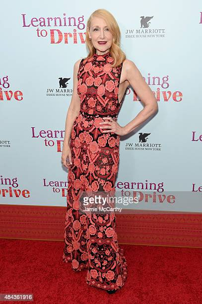 Actress Patricia Clarkson attends the New York premiere of 'Learning To Drive' at The Paris Theatre on August 17 2015 in New York City