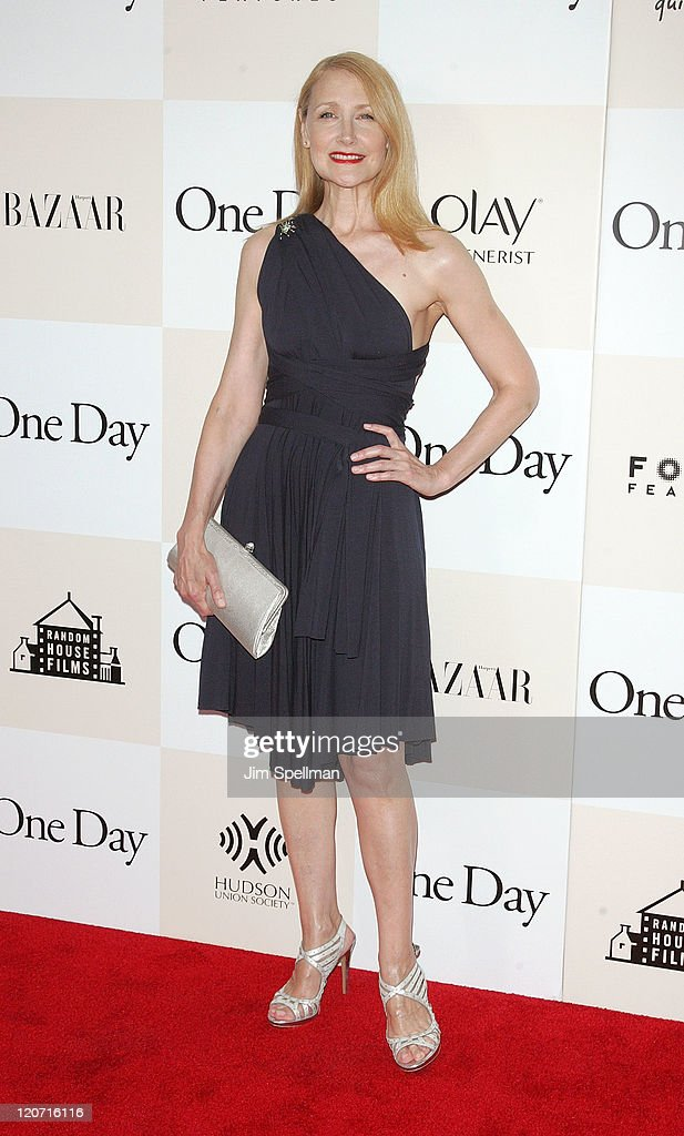 Actress Patricia Clarkson attends the 'One Day' premiere at the AMC Loews Lincoln Square 13 theater on August 8, 2011 in New York City.