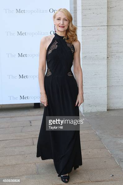 Actress Patricia Clarkson attends the season opening of 'The Marriage of Figaro' at The Metropolitan Opera House on September 22 2014 in New York City