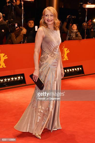 Actress Patricia Clarkson attends the 'The Party' premiere during the 67th Berlinale International Film Festival Berlin at Berlinale Palace on...