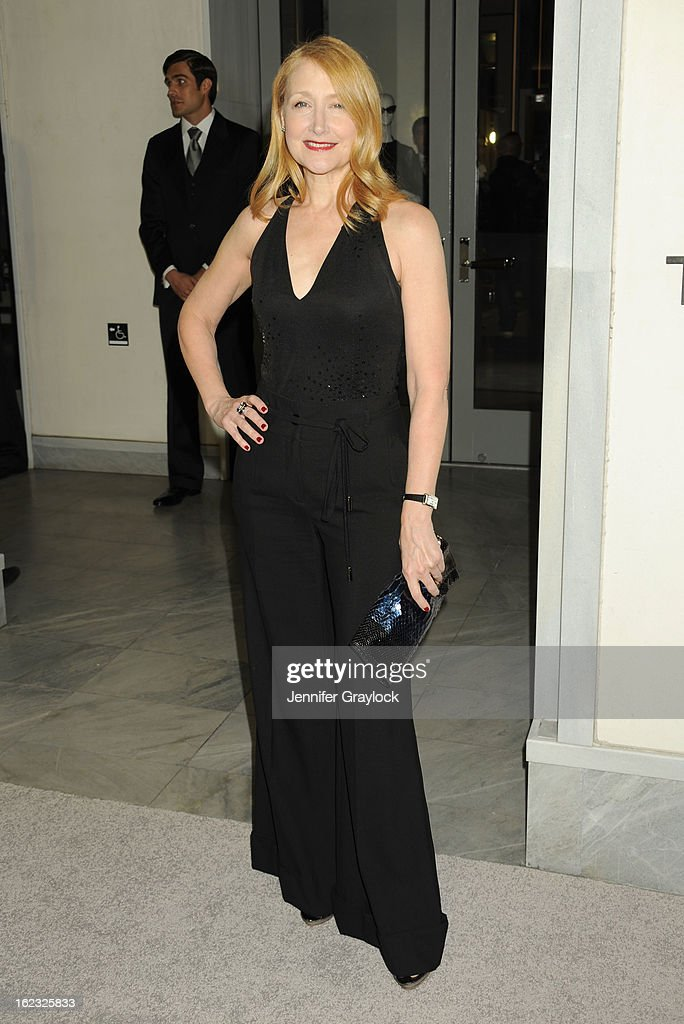 Actress Patricia Clarkson attends the Tom Ford cocktail party in support of Project Angel Food Media held at TOM FORD boutique on February 21, 2013 in Beverly Hills, California.