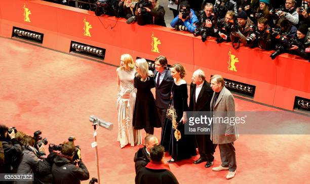 US actress Patricia Clarkson british producer Sally Potter irish actor Cillian Murphy britishfrench actress Kristin Scott Thomas german actor Bruno...